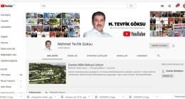 Başkan Göksu'yu Youtube'den de takip edebilirsiniz