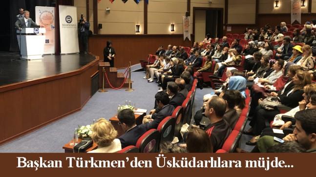 Başkan Türkmen, Üsküdarlılara 3'üncü Nevmekan müjdesi verdi