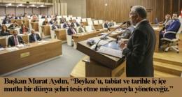 Beykoz Belediyesi'nin mali bütçe ve 4 yıllık stratejik planı meclisten geçti