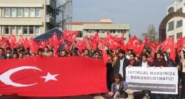 Boğaziçi Üniversitesi öğrencilerinden LGBT'li soysuzlara sert tepki geldi