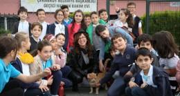 Çekmeköylü öğrenciler, hayvan dostlarını ziyaret ettiler