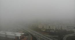 İstanbul'da sisli bir sabah