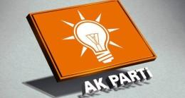 AK Parti'de 4 il başkanının istifası alındı