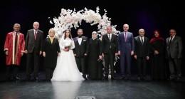Başkan Erdoğan, Topaktaş-Eraslan çiftinin nikah şahidi oldu