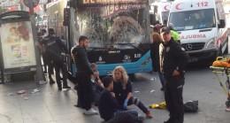 Beşiktaş'ta yolcu otobüsünün durakta yaraladığı vatandaş hayatını kaybetti