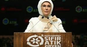 Emine Erdoğan, Uluslararası Sıfır Atık Zirvesi'ne katıldı
