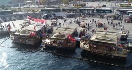 İBB, balıkçı teknelerini kaldırıyor