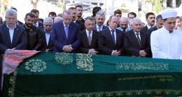Erdoğan, Akbaşoğlu'nun cenazesine katıldı