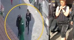 Karaköy'de başörtülü genç kızlara saldıran kadına kodes yolu göründü!