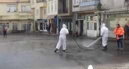 Ada'da faytonların durağı temizleniyor