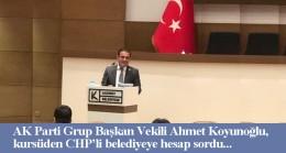 Ahmet Koyunoğlu'ndan CHP'li Kadıköy Belediyesi'ne sert eleştiri