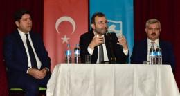Başkan Ahmet Cin, liseli öğrencilerle bir araya geldi