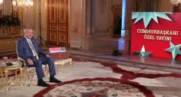 """Erdoğan, """"Bunlar bugüne kadar karşılarında dik duran liderler görmediler"""""""