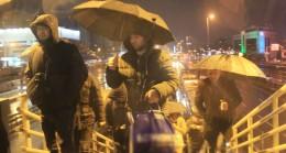 İstanbul'da yağış etkili oluyor