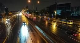 Yağmur İstanbul'da etkisini sürdürüyor