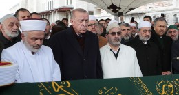 Başkan Erdoğan, Ahmet Vanlıoğlu Hoca Efendiyi Hakk'a uğurladı