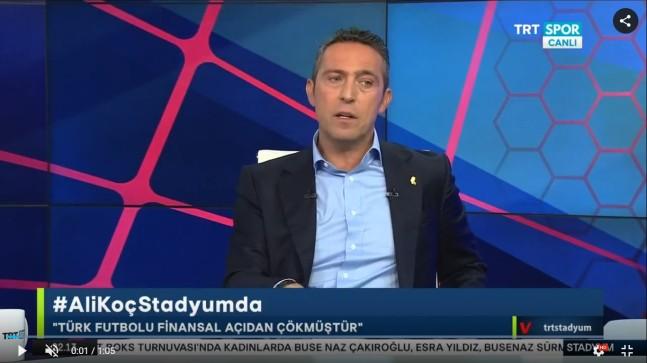 """Ali Koç, """"Muhtemel şampiyonluğumuzun önüne geçilmeye çalışılıyor"""""""