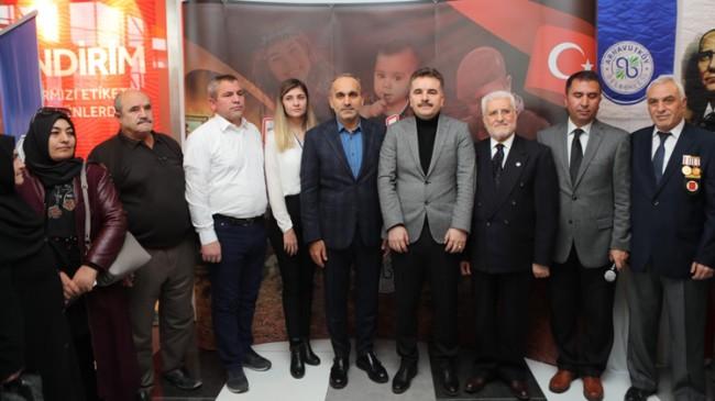 Arnavutköy'de duygulandıran sergi açılışı