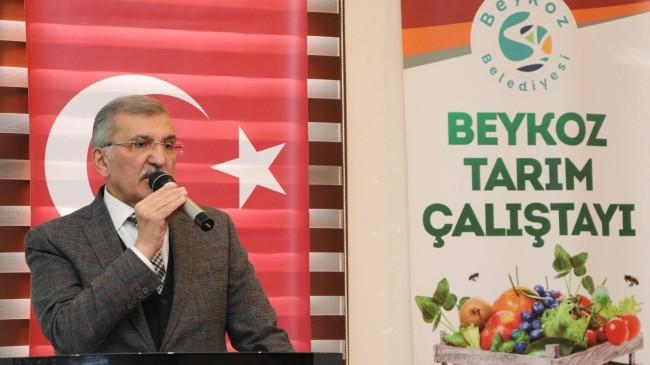 """Başkan Aydın, """"Beykoz iklim koşulları itibari ile tarıma oldukça elverişli bir yer"""""""