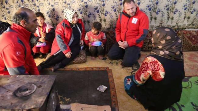 Başkan Döğücü, Sancaktepe'den İdlib çadırlarına yardıma koştu