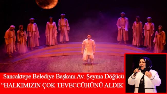 """Başkan Döğücü, Sancaktepe'yi tiyatronun, sanatın merkezi haline getireceğiz"""""""