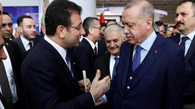 Başkan Erdoğan ile İBB Başkanı İmamoğlu arasında samimi diyalog yaşandı