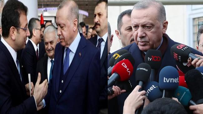 Başkan Erdoğan, İmamoğlu'nun verdiği mektup hakkında açıklama yaptı!