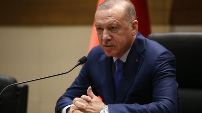 """Başkan Erdoğan, """"Miçotakis'ın attığı adımlar doğru adımlar değil"""""""