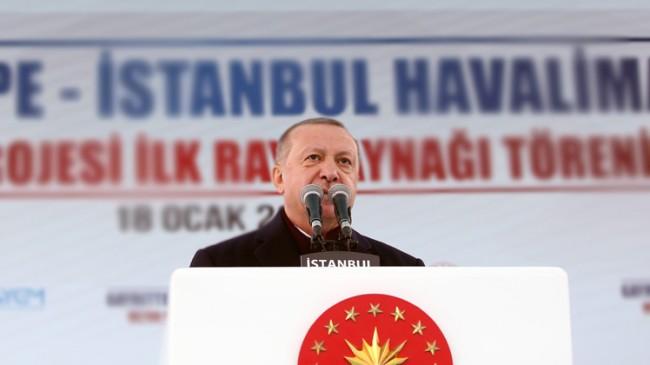 """Başkan Erdoğan, """"Türkiye Suriye'de ilerken CHP katil Esed'le her türlü flörtü ediyor"""""""