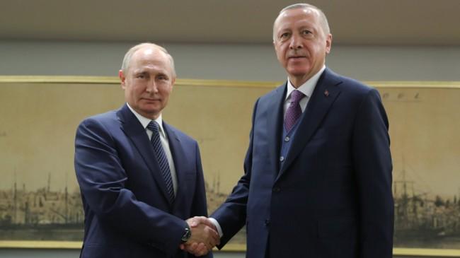 Başkan Erdoğan ve Vladimir Putin'den Libya'da ateşkes kararı