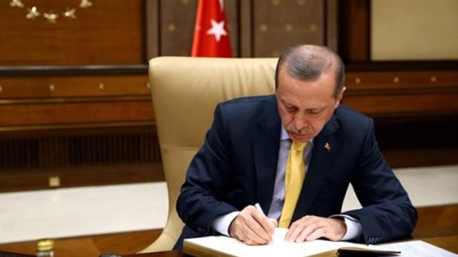 Başkan Erdoğan, yeni il başkanlarını atadı, espriyi de patlattı!