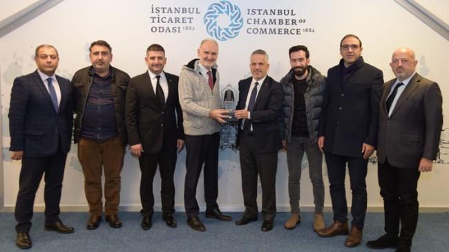 BATİAD Başkanı Ateş ve yönetimi, İTO Başkanı Avdagiç'i ziyaret etti