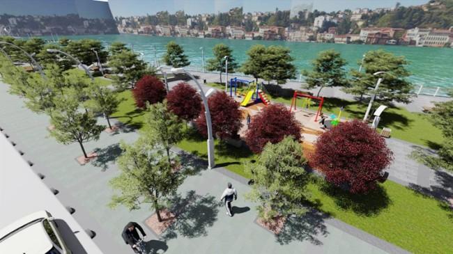 Beykoz Belediyesi'nden sahil için önemli yeşil alan ve çevre projesi