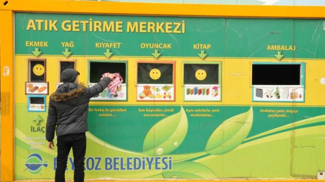 Beykoz Belediyesi'nden 'Sıfır Atık' hizmeti