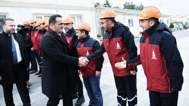 Beyoğlu Belediyesi tarafından 'Beyoğlu Afet Koordinasyon Merkezi' kuruldu