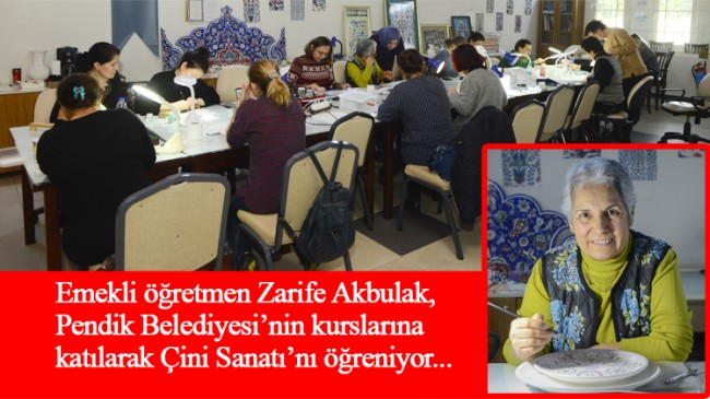 Emekli öğretmen Zarife Akbulak 22 yıl öğretti, şimdi öğreniyor