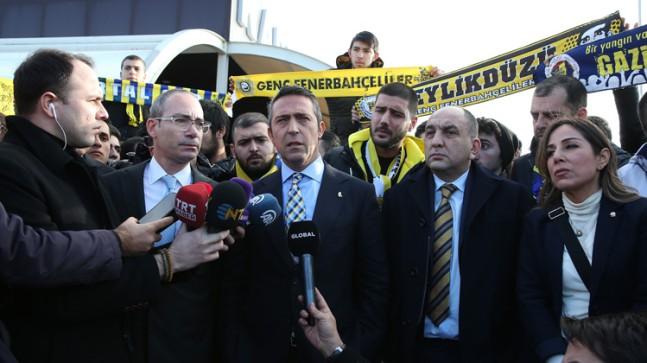 """Fenerbahçe Başkanı Ali Koç, """"FETÖ ile mücadele etmek herkesin görevidir"""""""