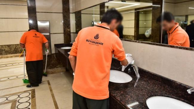 İBB, Saladin camilerinden temizlik elemanlarını geri çekti
