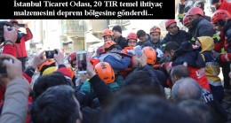 İTO'dan deprem bölgesine 20 TIR