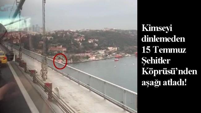 Köprüde intihar!