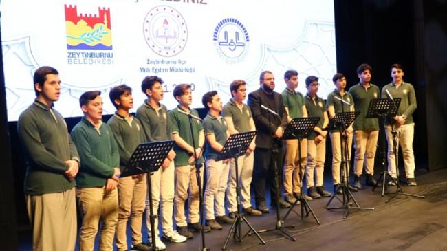 Merkezefendi Anadolu İmam Hatip Lisesi öğrencilerinden unutulmaz Kur'an tilaveti