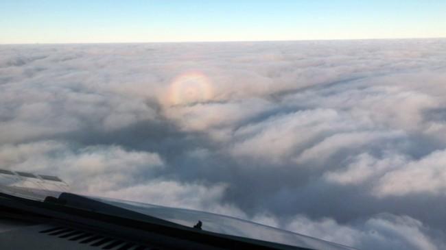 Pilottan Gökyüzünde özel görüntüler