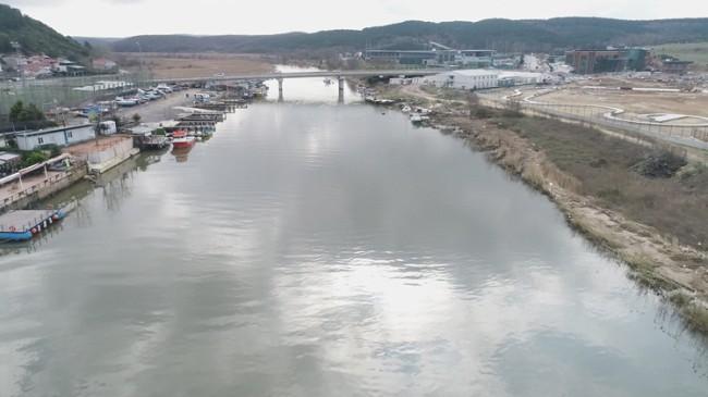 Riva deresi dev kanala dönüşüyor