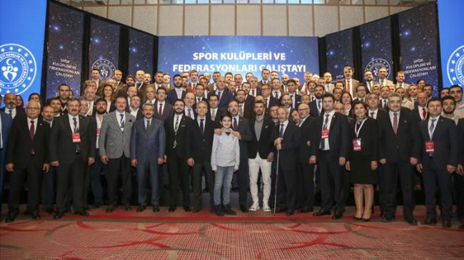 Türk sporu çalıştayı sona erdi