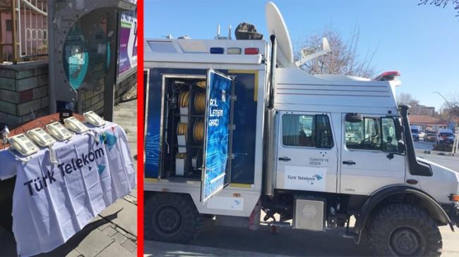 Türk Telekom, Elazığ deprem bölgesinde