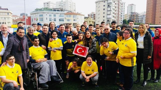Üsküdar'ın özel çocukları Fenerbahçe Kulübü'nde