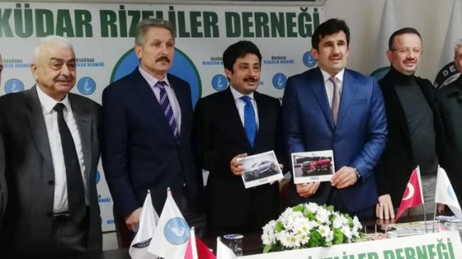 """Üsküdarlı Rizelilerden """"Türkiye'nin Otomobili""""ne tam destek"""