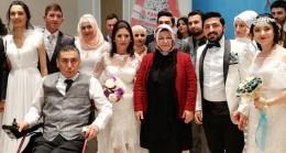 Başkan Döğücü'den 30 çifte özel günde, özel nikah