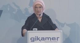 """Emine Erdoğan, """"Kadınların iş gücü yüzde 23'ten 34'e yükseldi"""""""