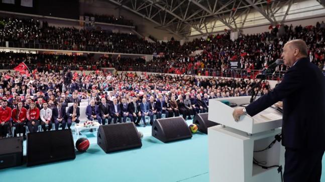 Erdoğan, Burhan Felek Atletizm Pisti'nin açılışını yaptı